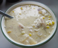Fairhaven fish chowder recipe for Fish chowder crock pot
